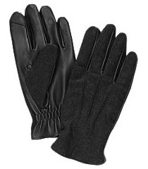 jos. a. bank wool and leather touch point gloves
