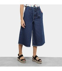 calça cropped cantão jeans feminino
