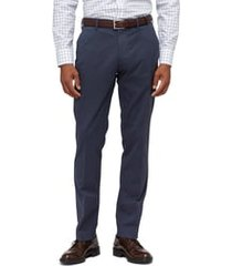 men's big & tall bonobos stretch weekday warrior slim fit dress pants, size 36 x 36 - blue