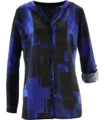 camicetta lunga fantasia (blu) - bpc selection