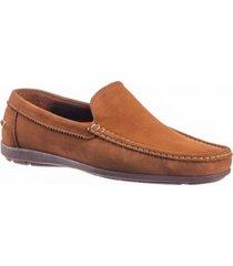 zapato mocasín casual para hombre san polos 1994 color siena