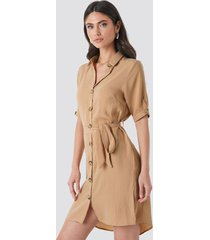 sisters point erob dress - brown