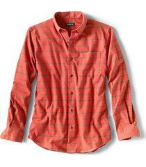 cotton/merino performance long-sleeved shirt - regular