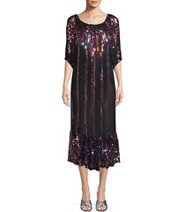 charro sequin midi dress