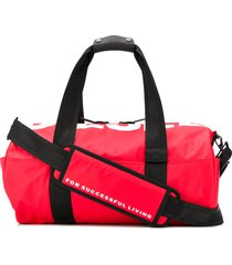 diesel travel bag with logo - red
