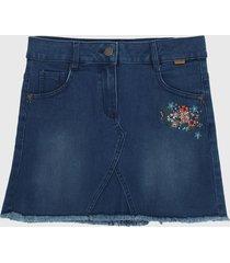 falda azul boboli