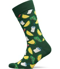 taco sock underwear socks regular socks grön happy socks