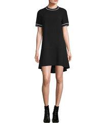 rag & bone women's thatch t-shirt dress - black - size s