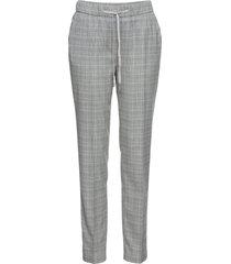 pantaloni tailleur principe di galles (nero) - bpc selection