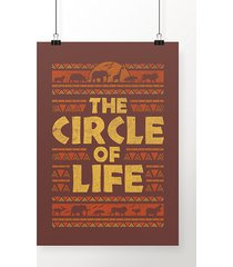 poster the circle of life