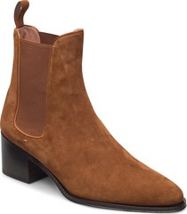 carlye chelseab.50-s shoes boots ankle boots ankle boot - heel brun boss