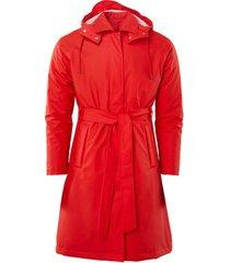 blazer rains w trench coat
