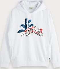 scotch & soda hoodie met artwork | keoni