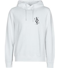 sweater calvin klein jeans back mirrored monogram hoodie