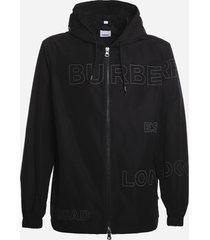 burberry horseferry print taffeta jacket
