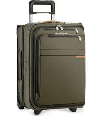 "briggs & riley baseline domestic 22"" 2-wheel softside carry-on garment bag"