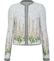 long sleeve tweed jacket