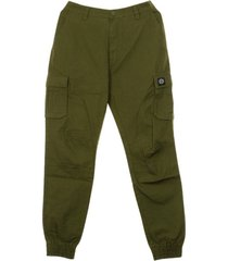 long cargo ripstop trousers re