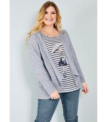 2-in-1-shirt sara lindholm marine::wit