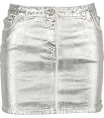 alyx metallic-print mini skirt
