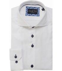 duetz1857 duetz 1857 dress overhemd wit
