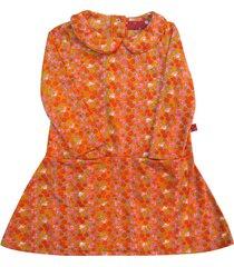 vestido naranja zuppa bolsillos