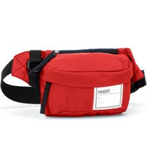 hugo boss men's nylon fanny pack