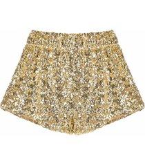 oséree sequin-embellished shorts
