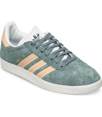 gazelle låga sneakers grön adidas originals