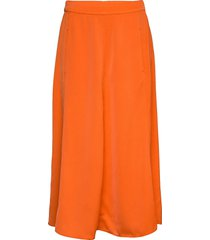 skirt knälång kjol orange ilse jacobsen
