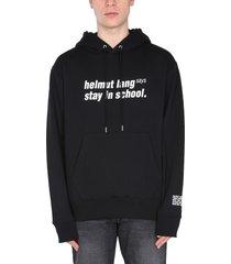 helmut lang school sweatshirt