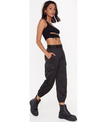 womens party vintage pants with adjustable drawstrings - black
