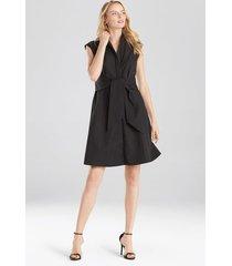 natori taffeta sleeveless dress, women's, cotton, size 2