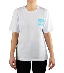 chiara ferragni eyelike white oversize t-shirt