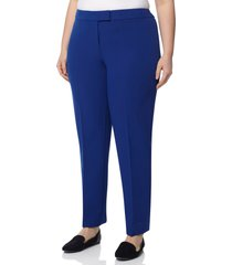 anne klein bowie stretch pants, size 16w in magritte blue at nordstrom