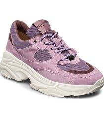 slfgavina trainer b sneakers skor lila selected femme