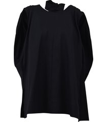 celine cotton and wool top