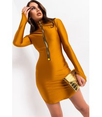 akira addicted to the fast life large zipper mini dress