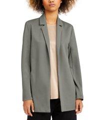 eileen fisher notch-lapel jacket, regular & petite sizes