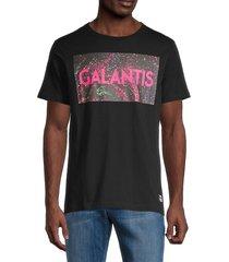 wesc men's graphic short-sleeve t-shirt - black - size m