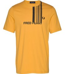 fp graphic t-shirt t-shirts short-sleeved gul fred perry
