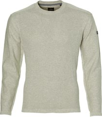 jac hensen pullover - modern fit - lichtgrijs