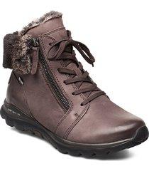 ankle boots shoes boots ankle boots ankle boots flat heel grå gabor