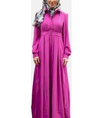 urban modesty women's lattice maxi dress