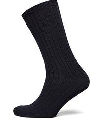 sock shiny rib lingerie hosiery socks blå lindex