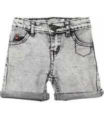 bermuda jeans marine gris ficcus