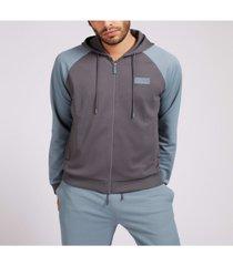 men's active zip-up hoodie