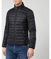 emporio armani men's basic jacket - black - m