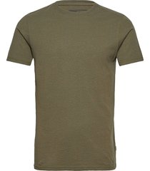 6194761, t-shirt - rock ss organic t-shirts short-sleeved grön solid