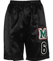 mm6 patch track shorts
